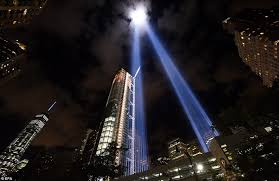world trade center lights 9 11 tribute in light shut off four times after migrating birds get