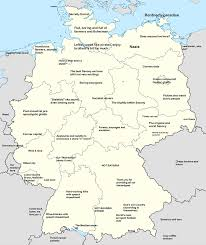 map of gemany german map of national stereotypes germany