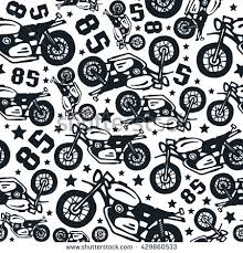 harley davidson wrapping paper motorbike background stock images royalty free images vectors