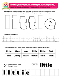 First Grade Sight Words Worksheets Outstanding Sight Word Writing Practice Miss Kindergarten High