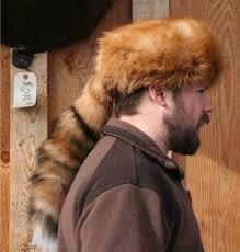Fox Fur Blanket Glacier Wear Red Fox Daniel Boone Style Fur Hat For Sale