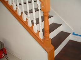 and stair installation project