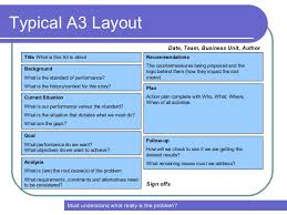 a3 report template a3 template powerpoint a3 powerpoint template powerpoint a3