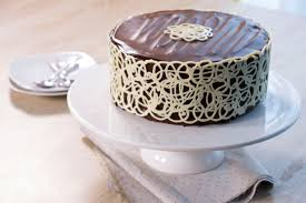 cake lace mud cake and white chocolate lace fashion