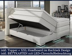 Betten Schlafzimmer Amazon Xxl Roma Boxspringbett Mit Bettkasten Designer Boxspring Bett Led