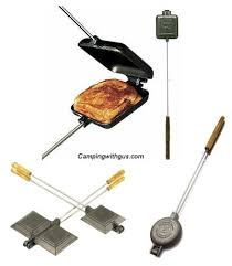 Campfire Toaster How To Make Pie Iron Pizza And Recipes For Kids