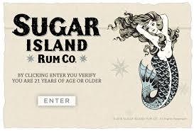 vintage martini illustration coconut rum signature cocktail martini u2014 sugar island rum