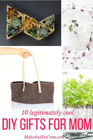 10 simple and modern diy gift ideas for cool moms