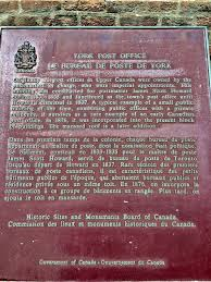 le de bureau york read the plaque york post office