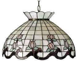 kichler tiffany lighting 31211 tiffany roseborder hanging lamp
