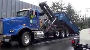2004 kenworth truck shipyard waste solutions 503 kenworth t800 wastequip rolloff