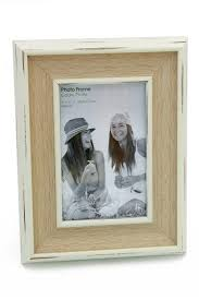 Large Shabby Chic Frame by Large Blue Distressed Painted Wooden Photo Frame Vintage Shabby