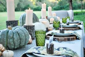Fall Table Settings by Enchanted Autumn Thewhitebuffalostylingco Com