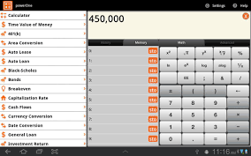 Auto Lease Calculator Spreadsheet Powerone Finance Calculator Android Apps On Google Play