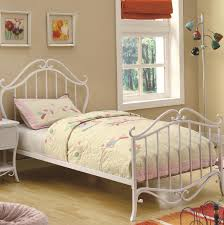 modern white wrought iron bed u2014 home ideas collection decorate a