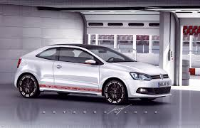 volkswagen polo modified casey artandcolour cars vw polo sport coupe u2014giugiaro scirocco reborn