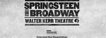 Ticketmaster Announces Extension To Springsteen On Broadway