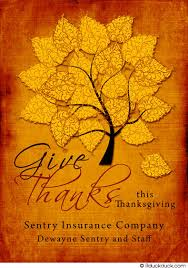 give thanks business greeting card thankful spirit clients wording