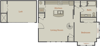 one bedroom floor plan floor plans archives canalside lofts apartment homes in downtown