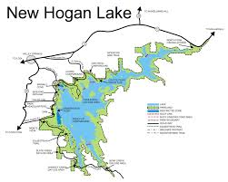 Beaver Lake Map New Hogan Lake Outdoor Recreation At Its Best In California Gold