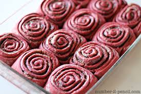 red velvet cake mix cinnamon rolls no 2 pencil