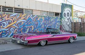 pink convertible cars 1966 chevrolet impala convertible s s love spell