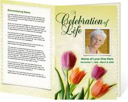 Free Funeral Programs 8 Best Images Of Templates Funeral Program Designs Free Funeral