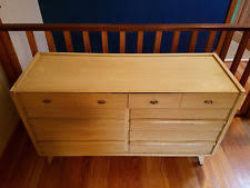 Mahogany MidCentury Modern Antique Dressers  Vanities EBay - Mid century modern blonde bedroom furniture