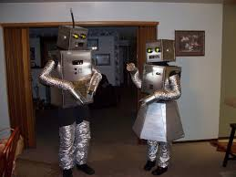 how to build robot halloween costumes couple halloween