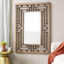wood frame wall decor wall decor fretwork wall mirror west elm fretwork wall
