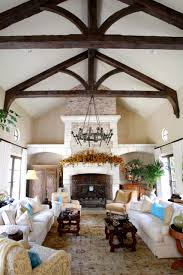 fireplace mediterranean living room with stone fireplace mantels