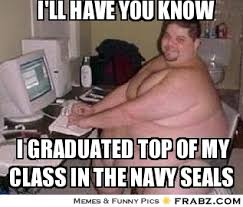 Fat Memes - image 34 fat guy at a computer image meme ill have you know i