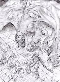 david and goliath by erosmilestailsprower on deviantart