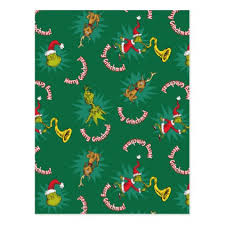 dr seuss assorted gift wrapping paper dr seuss the grinch merry grinchmas pattern postcard grinch