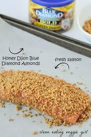cuisine schmidt dijon honey dijon almond crusted salmon