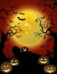 halloween night poster vector art u0026 graphics freevector com