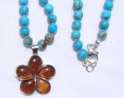 Koa Wood Plumeria Flower Sterling Silver Pendant Koa Wood Necklace