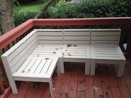Modern Outdoor Wood Bench by Simple Modern Outdoor Sectional Diy Outdoor Furniture Tutorials