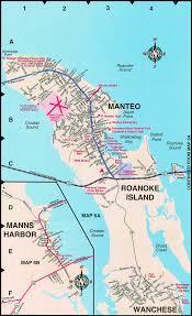 Nc Maps Manteo Map Roanoke Island Street Maps Nc Obxconsulting Com