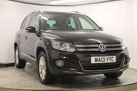 volkswagen tiguan black used volkswagen tiguan se tdi bluemotion 2 0 diesel manual 5 door