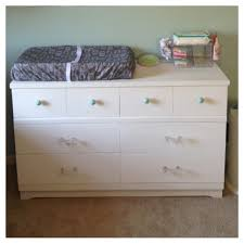 Dark Brown Changing Table by Bedroom Classy Dark Brown Walnut Wooden Dresser And Chrome Handle