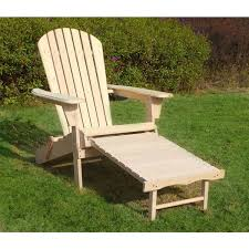 Adirondack Chair With Ottoman Merry Products Adirondack Chair Kit With Pullout Ottoman Free