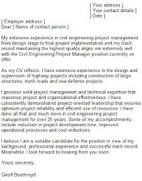 fresh project manager cover letter no experience 16 in free cover
