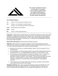 free job position proposal template job position proposal