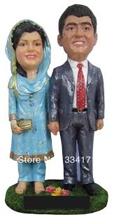 gift to india personalized bobblehead doll india wedding gift wedding decoration