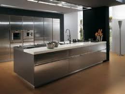 Designer Kitchen Cupboards Brushed Steel Kitchen Cupboard Cover Self Adhesive Vinyl