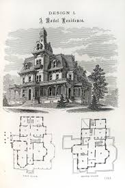 victorian mansion floor plans an old and traditional victorian with it s floor plan as well as an
