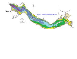 Tacoma Zip Code Map by Riffelake Information Northwest Fishing Reports