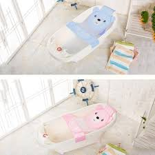 fashion baby bath seat net bathtub sling shower mesh anti