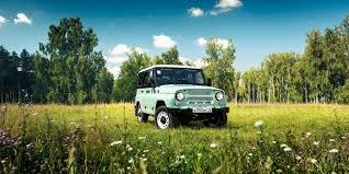 uaz jeep спецверсию uaz hunter посвятили 45 летию классического уаз 469